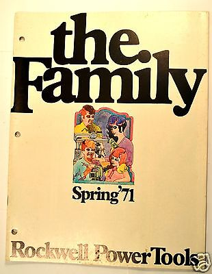 The Family Spring 1971 Rockwell Power Tools Catalog Rr39 Saws Sander Router