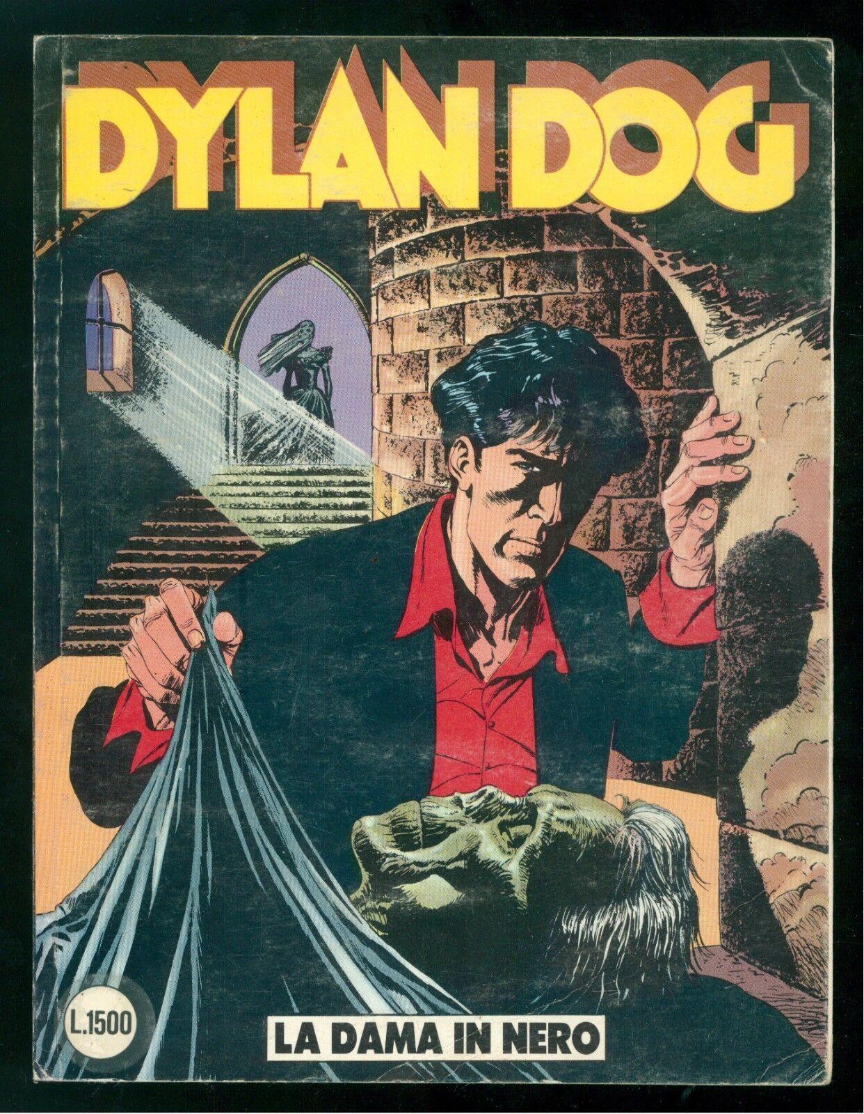 DYLAN DOG LA DAMA IN NERO NUMERO 17 EDIZIONE ORIGINALE FEBBRAIO 1988