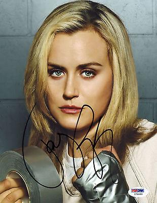 Taylor Schilling Signed Psa Dna Coa 8X10 Photo Auto Autograph Autographed Psa P4