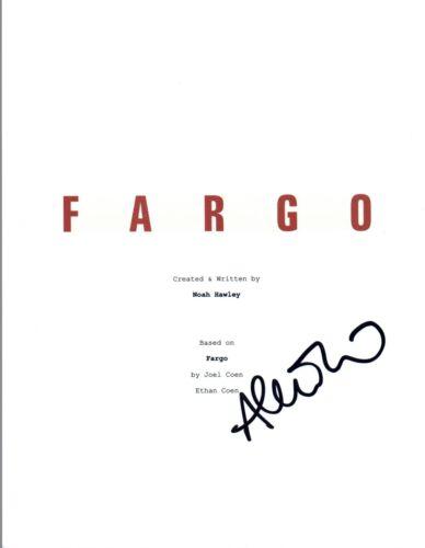 Allison Tolman Signed Autographed FARGO Pilot Episode Script COA VD