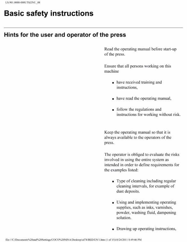Heidelberg Speed Master CD-74(CP 2000)-Operating Manual  (pdf file)(087)