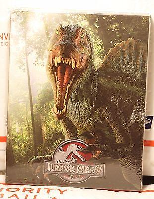 Jurassic Park 3 Blu Ray Full Slip Steelbook  W  Lenti Magnet  Fac  67 Only 801