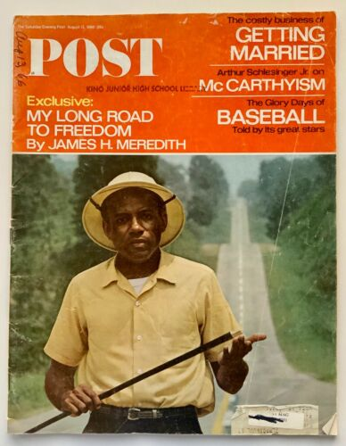 1966 POST Magazine - My Road to Freedom by James H. Meredith