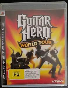PS3 Guitar Hero World Tour Set Holsworthy Campbelltown Area Preview