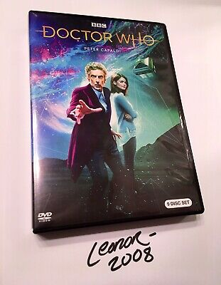 Doctor Who: Peter Capaldi Complete Collection DVD Set Season's 8 9 10