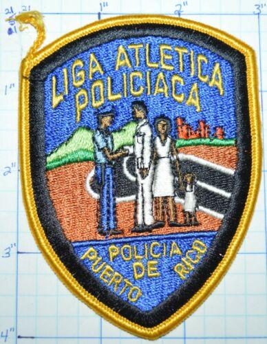 "PUERTO RICO POLICIA POLICE LIGA ATLETICA POLICIACA 4"" PATCH"