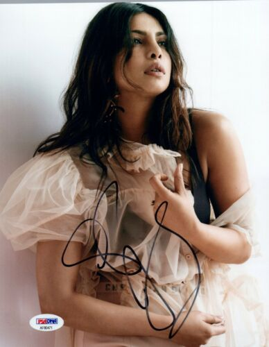 Priyanka Chopra Signed Autographed 8x10 Photo Quantico PSA/DNA COA