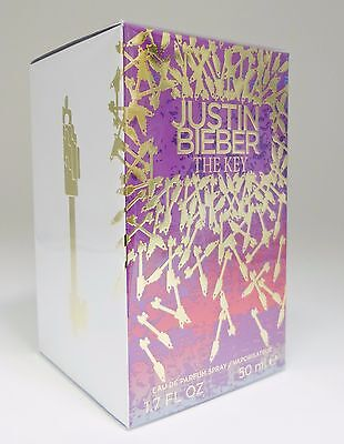 The Key By Justin Bieber 1 7 1 6 Oz 50 Ml Women Perfume Edp Spray New In Box