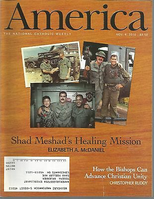 America November 8  2010 Shad Meshads Healing Mission Advance Christian Unity