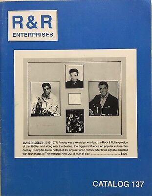 RR AUCTION CATALOG HISTORICAL NASA SPORTS ENTERTAINMENT ELVIS PRESLEY COVER