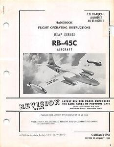 45c handbook flight operating insts air force manual flight manual cd