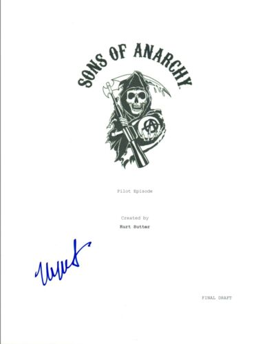Maggie Siff Signed Autographed SONS OF ANARCHY  Pilot Episode Script COA VD