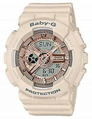 Casio Baby-G Pink Women's Resin Analog & Digital Watch BA110CP-4A
