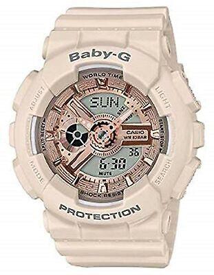 Casio Baby-G Pink Women's Resin Analog & Digital Watch BA110CP-4A