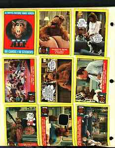 1987 Topps Alf Series 1 Trading Card Set 47 Cards Excellent  Near Mint Condition