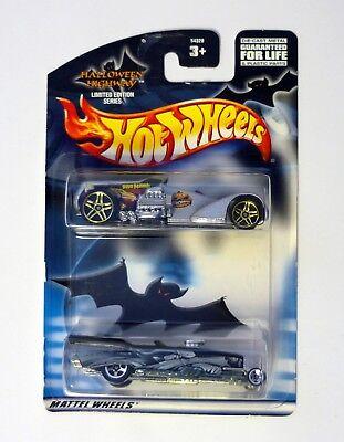 HOT WHEELS HALLOWEEN HIGHWAY 2-PACK Die-Cast Cars MOC COMPLETE 2002
