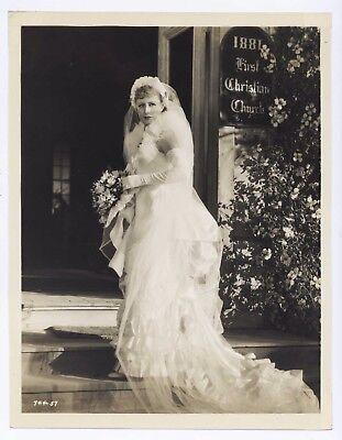 Vintage 1936 SHOW BOAT Original 7.75x10 IRENE DUNNE Portrait WEDDING DRESS