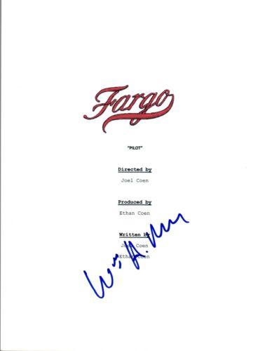 William H Macy Signed Autographed FARGO Pilot Episode Script COA VD
