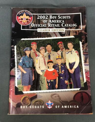 2002 Boy Scouts of Ameria Official Retail Catalog, Leader Edition