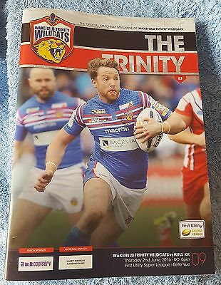 Wakefield Trinity Wildcats vs. Hull Kingston Rovers - 2/6/2016