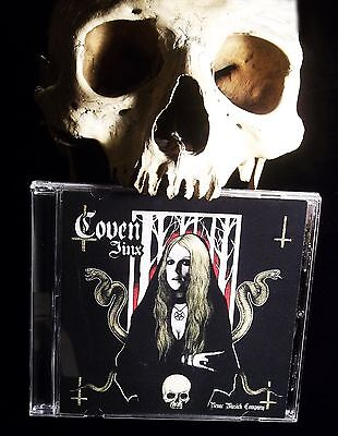 """COVEN """"JINX"""" ONLY AUTHORIZED NEW 2013 CD,Jinx hand signed,numbered, Witchcraft"""