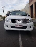 2015 Toyota hilux 4 cylinder diesel Manuel  5 seats turbo charge Brunswick Moreland Area Preview