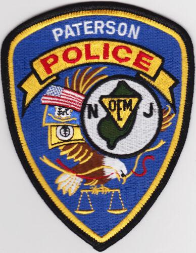 Paterson Police NJ New Jersey patch