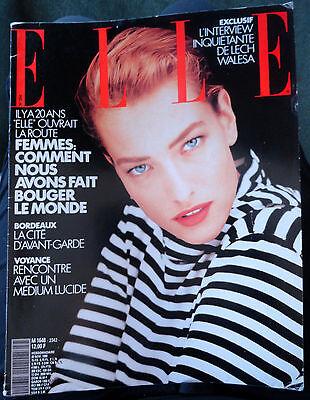 Vtg Elle French 1990 Bernardo Bertolucci Megan Douglas Ludmila Isaeva Malakhova