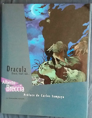 Dracula, Dracul, Vlad ?, bah ... EO Breccia Humanoïdes Associés + jaquette