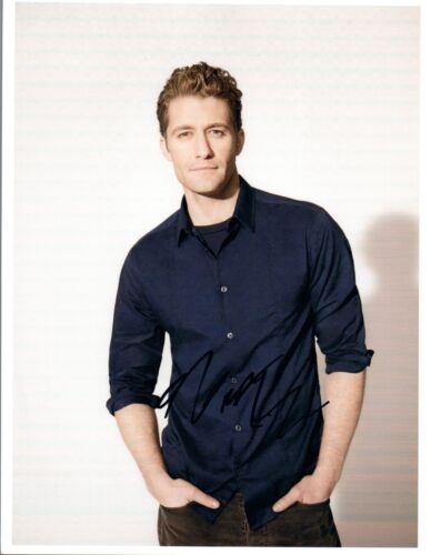 Matthew Morrison Signed Autographed 8x10 Photo Glee COA VD
