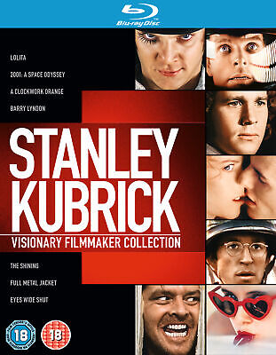 Stanley Kubrick: Visionary Filmmaker Collection (Blu-ray) Malcolm McDowell