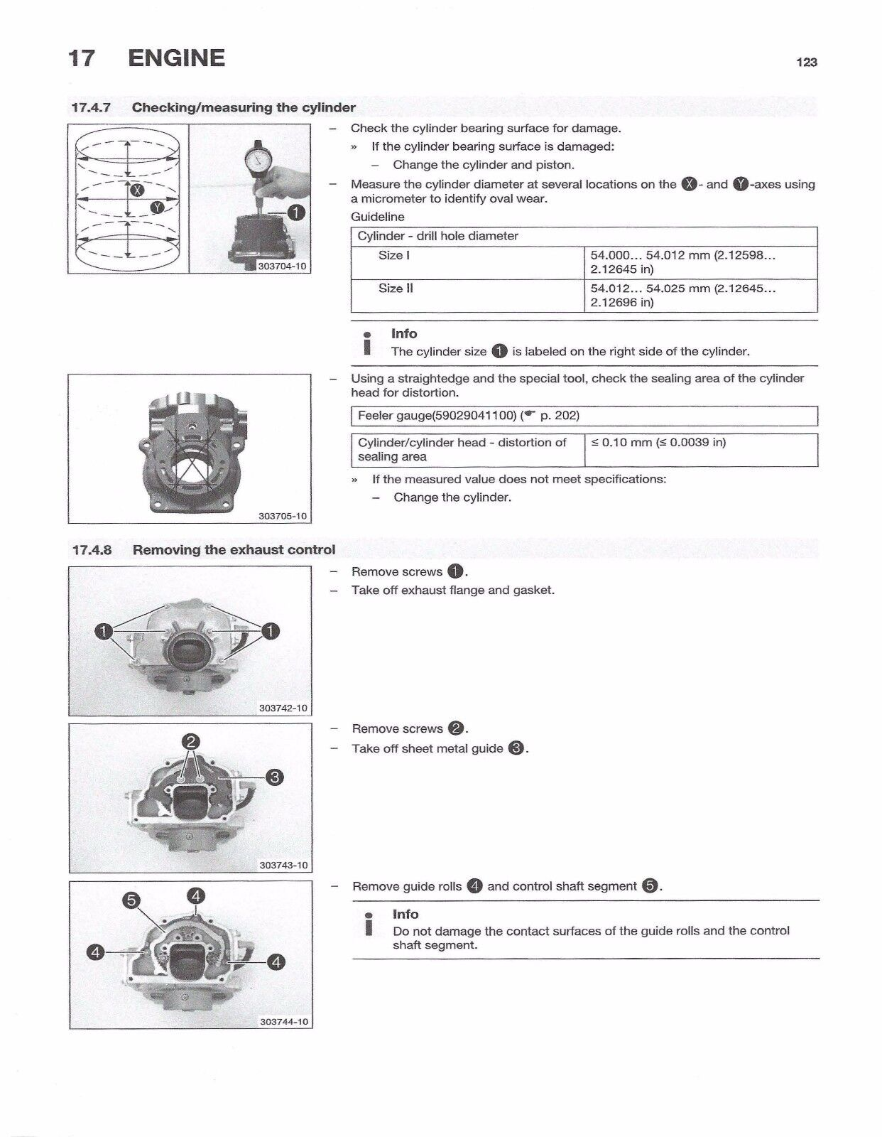 7 of 10 Husqvarna workshop service manual 2016 TC 125 8 of 10 ...