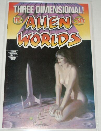 THREE DIMENSIONAL ALIEN WORLDS #1 COMIC BOOK