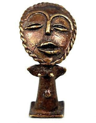 Art African Tribal Arte African Africana - Figure Ashanti Bronze - 6,5 CMS