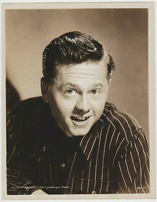Mickey Rooney Vintage 1940s MGM 8x10 Promotional Still Photo MXR-35 E2