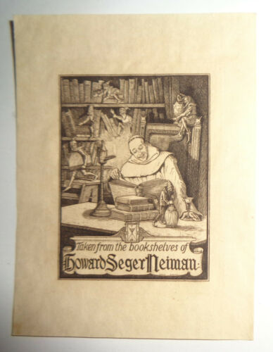 Howard Seger Neiman Bookplate - circa 1910