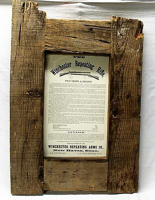 Rare Winchester 1873 Henry Rifle Poster