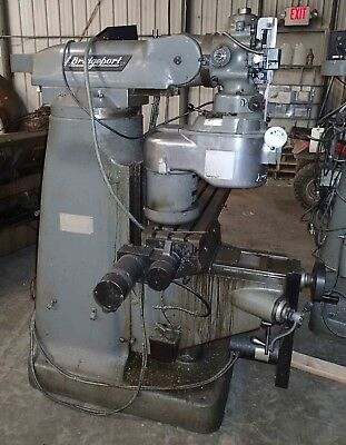 Bridgeport Cnc Mill- Series 1 Proto Trak Plus Control 2 Hp