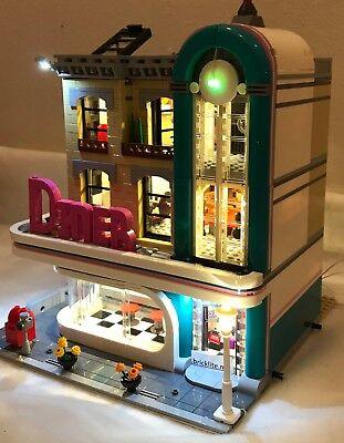 New LED Lighting Kit for Lego Downtown Diner 10260