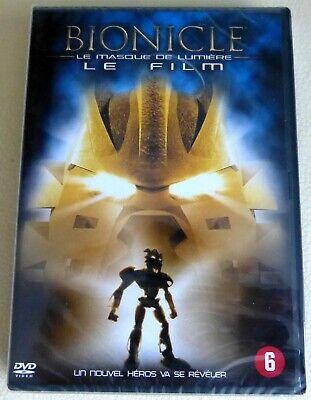 !!! DVD NEUF - BIONICLE : Le Masque de Lumière - FR/EN/NL !!!