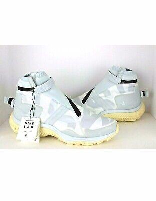 on sale 68857 eae21 New Nike NikeLab NSW Gyakusou Gaiter Boot Size 11 Pure Platinum AA0530 100