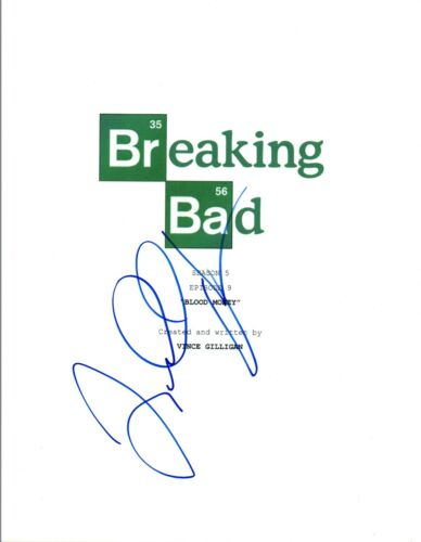 "Lavell Crawford Signed Autographed BREAKING BAD ""Blood Money"" Script COA VD"