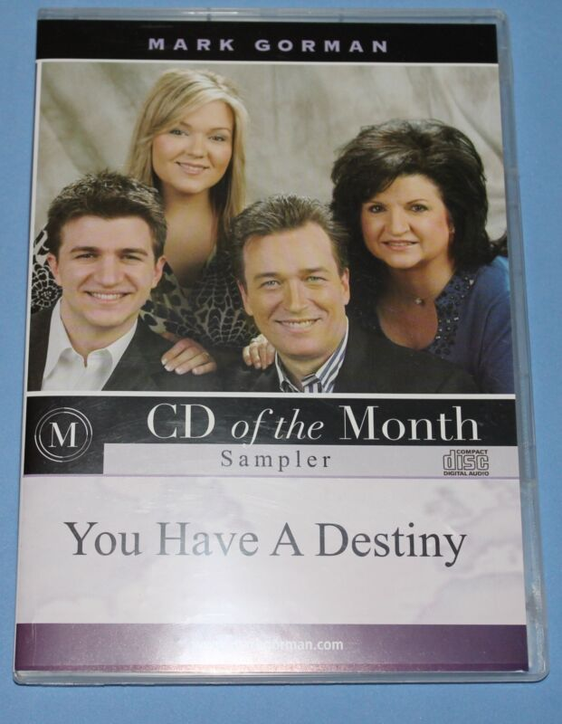Mark Gorman - You Have a Destiny CD