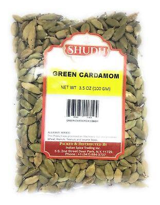 cardamom pods - Green Cardamom 3.5oz (100 GM) Spice By BulkShopMarket -