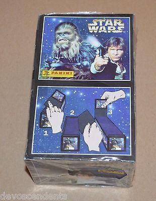 1996 PANINI Star Wars Full Box Sealed 100 Bags 600 Stickers Jedi Ewoks Droids