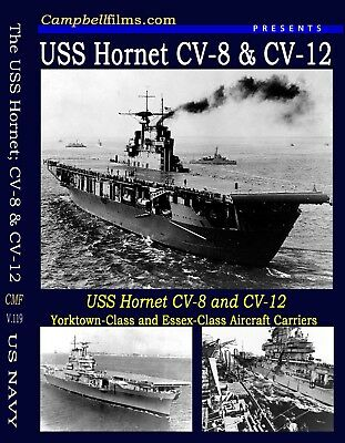 US Navy USS Hornet CV-8 CV-12 Carrier film WW2 Doolittle Raid Plus the Apollo 11