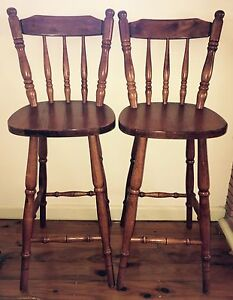 Pair of quality Bar Stools in near perfect condition Hornsby Hornsby Area Preview