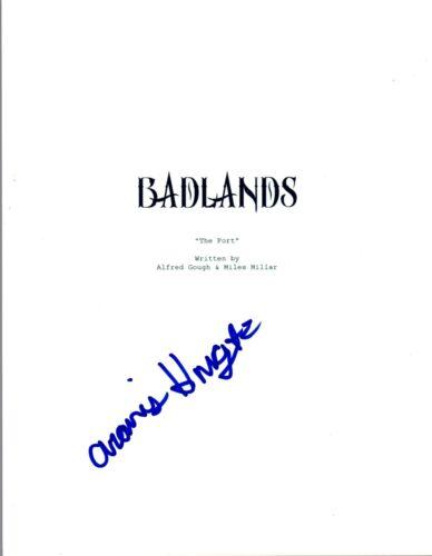 Aramis Knight Signed Autographed INTO THE BADLANDS Pilot Episode Script COA AB