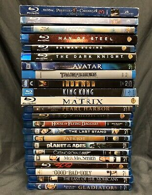 Collection of Action Movie Collection, Lot Of 23 Blu-Ray, Avatar, Ironman & More
