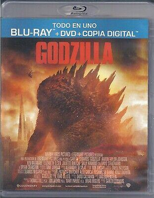 BLU-RAY GODZILLA BR+DVD+COPIA DIGITAL PRECINTADO
